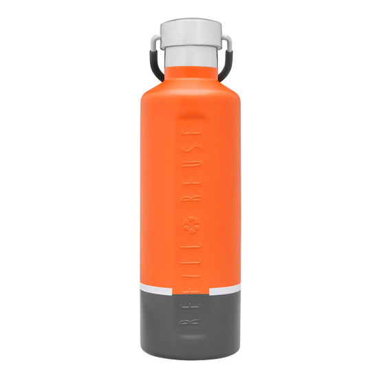 Stainless Steel Insulated Classic Bottle in Orange