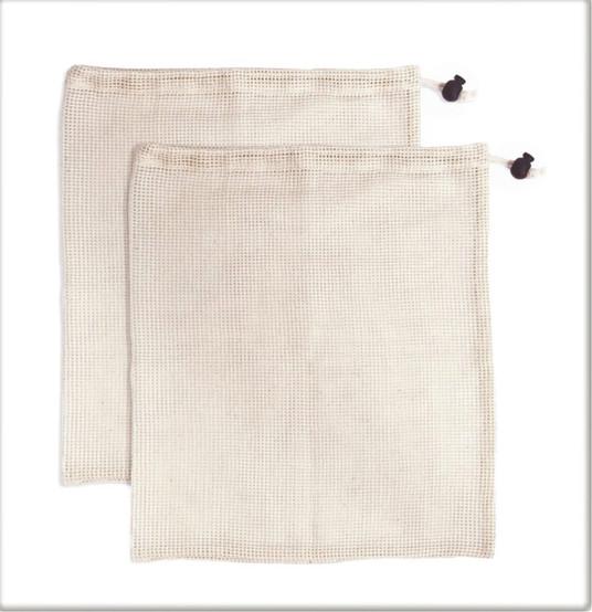Set of 2 Cotton Produce Bags