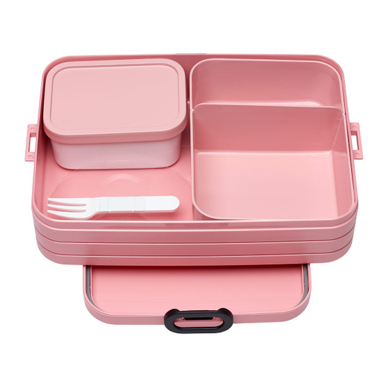 Large Bento Lunch Box in Nordic-Pink