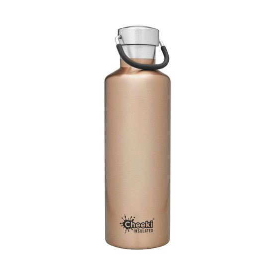 Stainless Steel Insulated Classic Bottle in Champagne