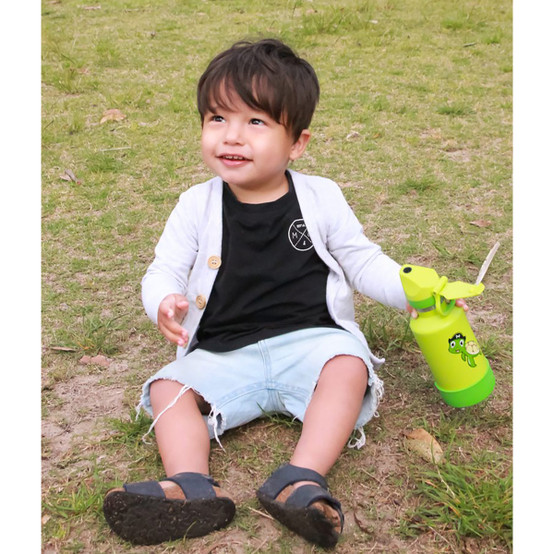 Stainless Steel Insulated Kids Bottle in Turtle