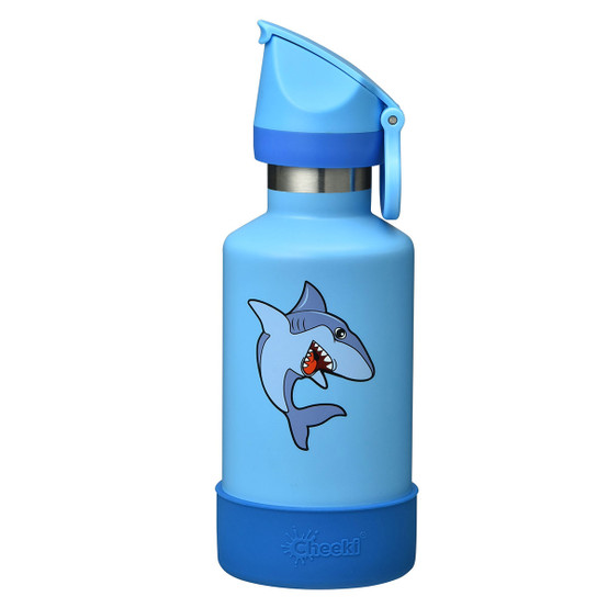 Stainless Steel Insulated Kids Bottle in Shark