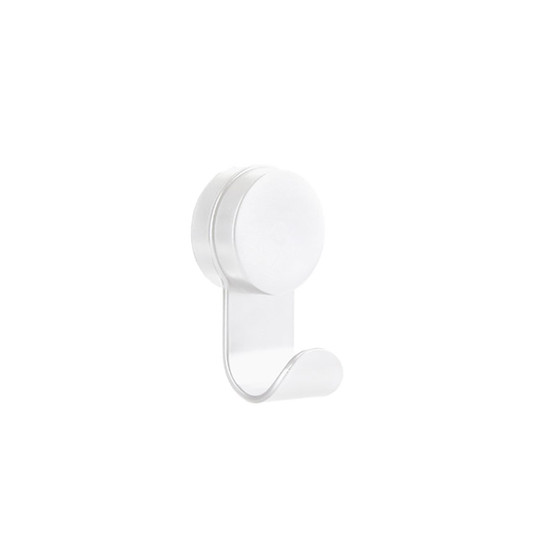 Puck Hook Single in White