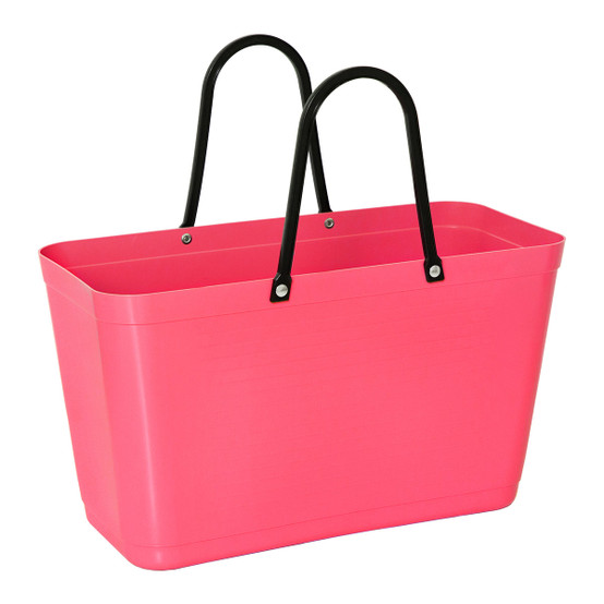 Large Eco Bag in Tropical-Pinl