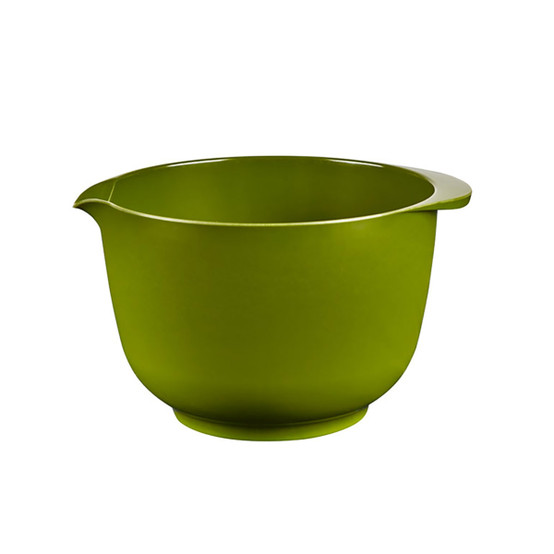 Margrethe 2.1 Quart Mixing Bowl in olive