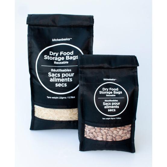 Set of 2 Nylon Bulk Food Bag