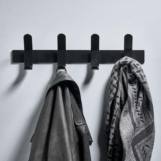A-Rack Coat Rack in Black