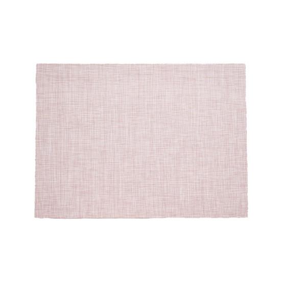 MiniBasketweave Floor Mat in Blush