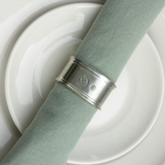 Oval Napkin Rings, Pair