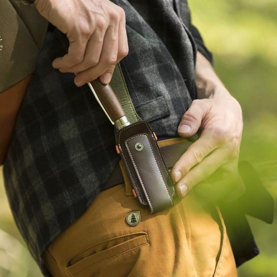 Medium Outdoor Knife Sheath in Brown