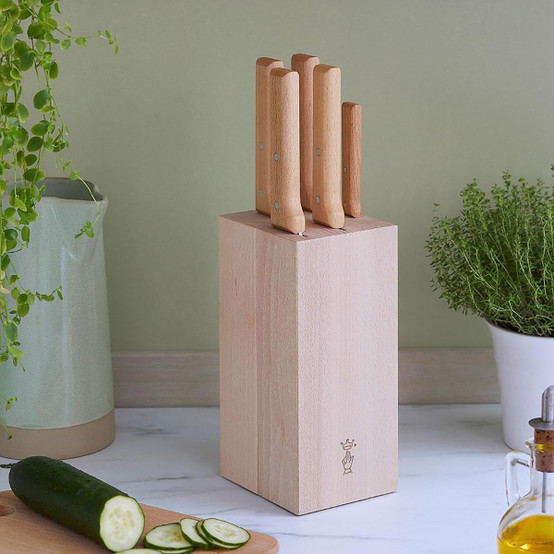 Parallele 5 Piece Knife Set with Block