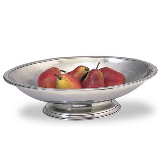 Oval Footed Centerpiece