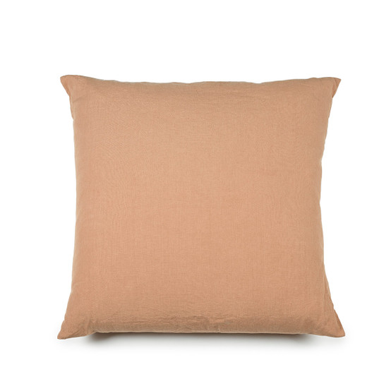 Madison King Pillow Case in Cinnamon