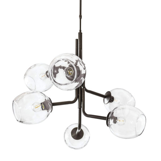 Calendonia Chandelier with 6 Globes