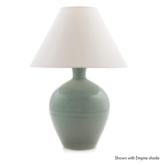 Medium Belmont Lamp in Celadon