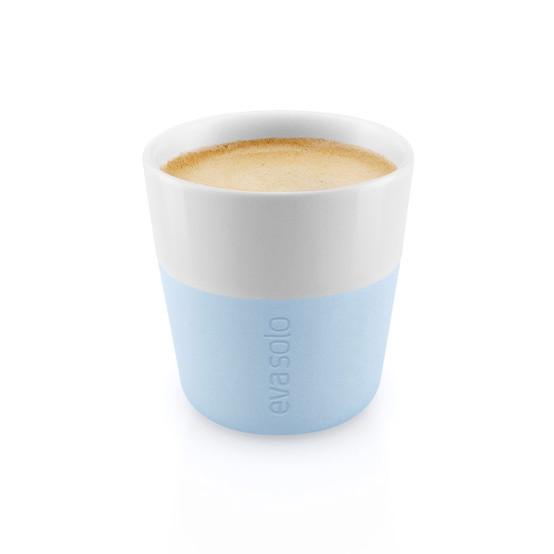 Espresso Tumblers In Soft Blue