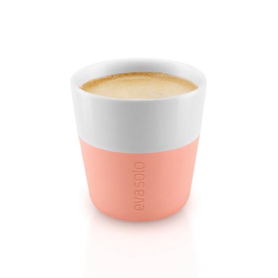 Espresso Tumblers In Cantaloupe