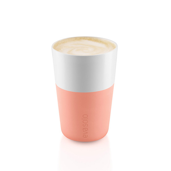 Cafe Latte Tumblers In Cantalope