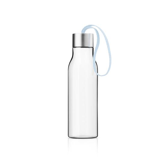 Drinking Bottle In Soft Blue