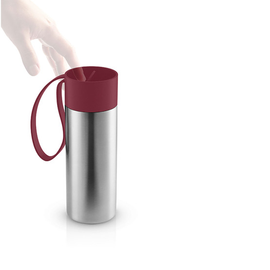 To Go Cup In Pomegranate