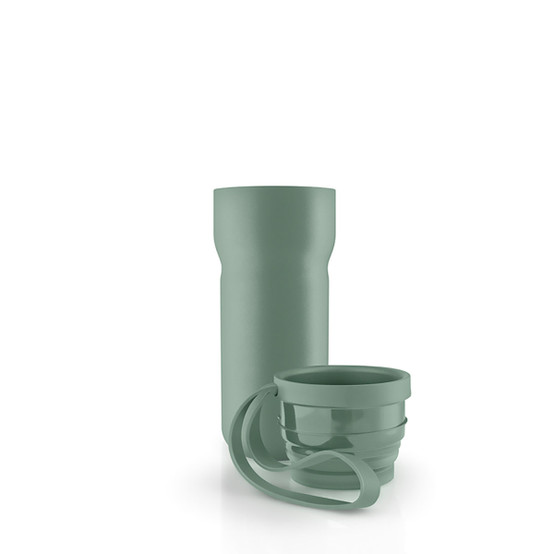 Thermo Coffee Cup In Faded Green