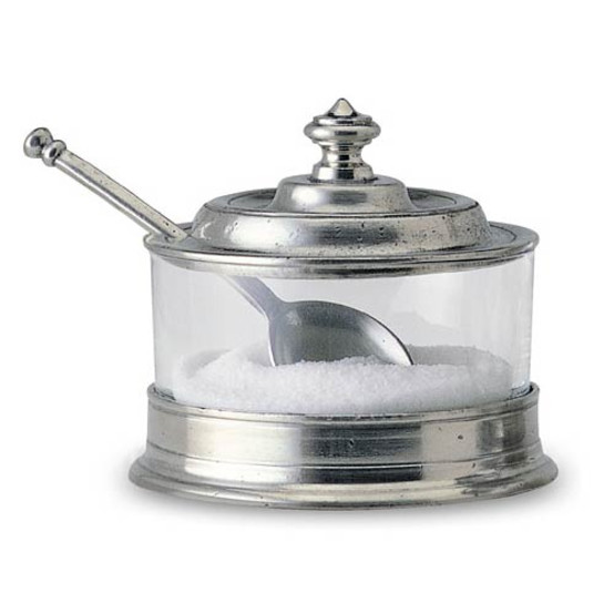 Jam Pot with Spoon