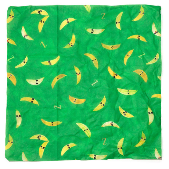Medium That's Bananas! Food Wrap in Green