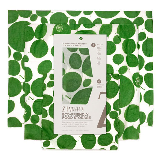 3 Pack of Bees Love These, Petals & Pods, and Leafy Green Food Wraps