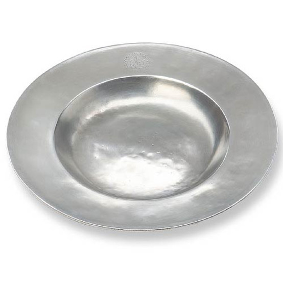 Wide Rimmed Shallow Bowl