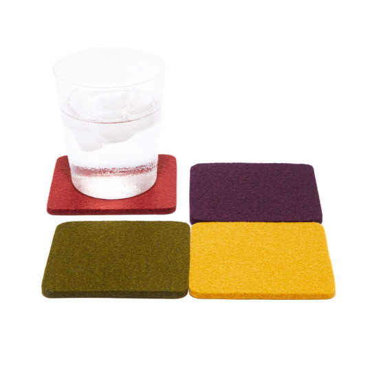 Square Coaster 4 Pack, Provance