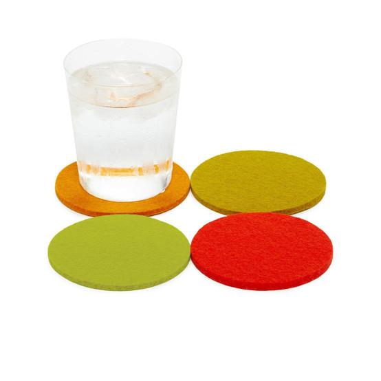 Round Coaster 4 Pack, Sunburst
