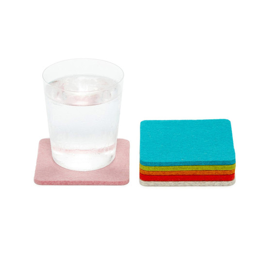 Square Coaster 6 Pack, Palm Springs