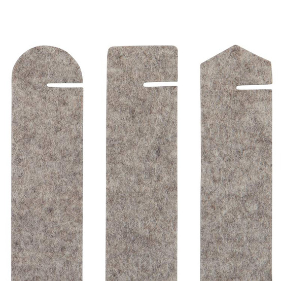 Maki Napkin Ring Set in Granite