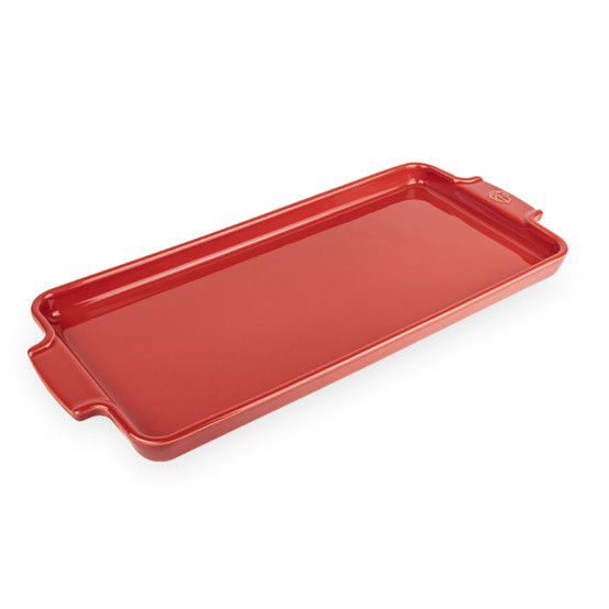Appolia Appetizer Tray in Red