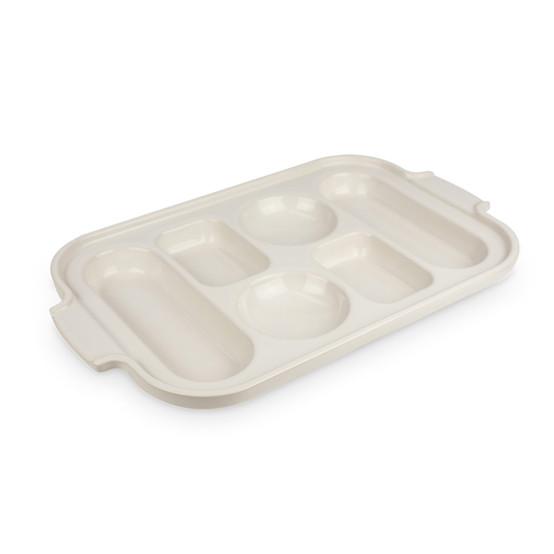 Appolia Ceramic Bread Sampler Pan in Ecru