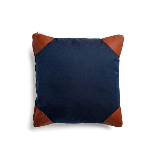 Nyan Pillow in Marine Blue