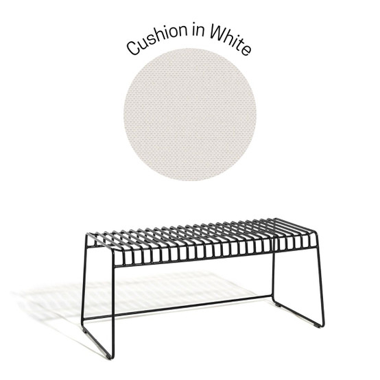 Resö Bench Seat Cushion in White