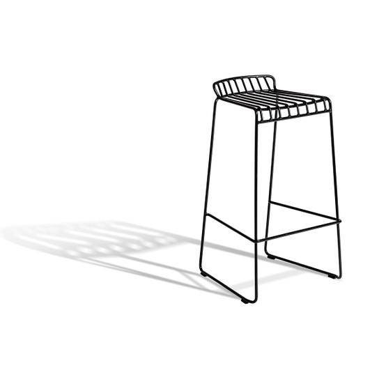 Resö High Bar Chair in Black