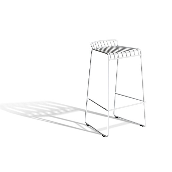 Resö Low Bar Chair in White