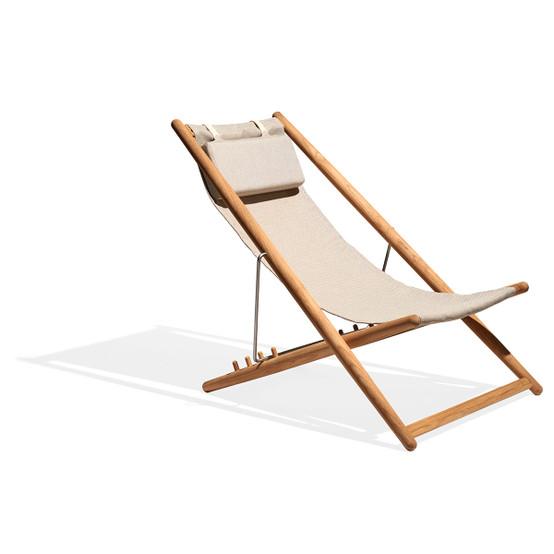 H55 Lounge Chair (Teak Frame Only)