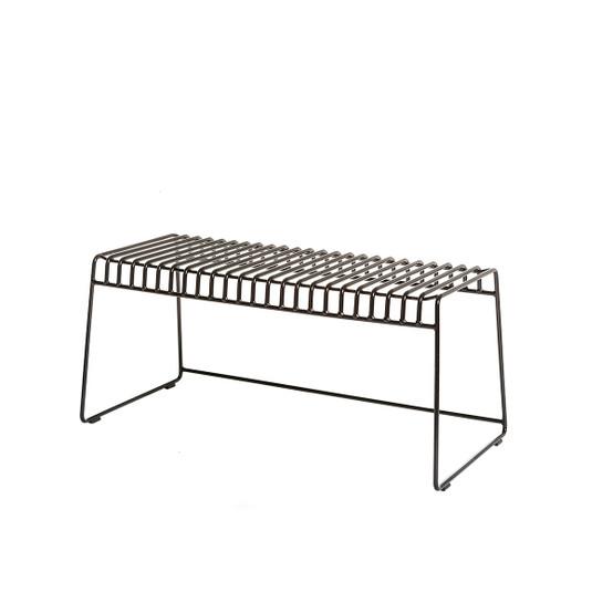 Resö Bench with Black Frame