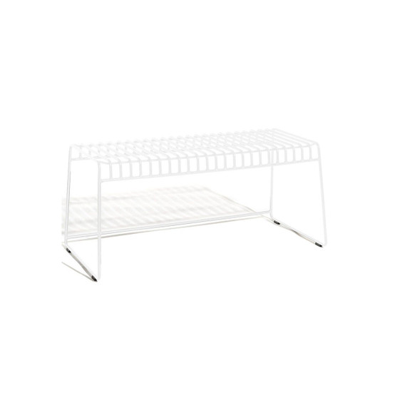 Resö Bench with White Frame
