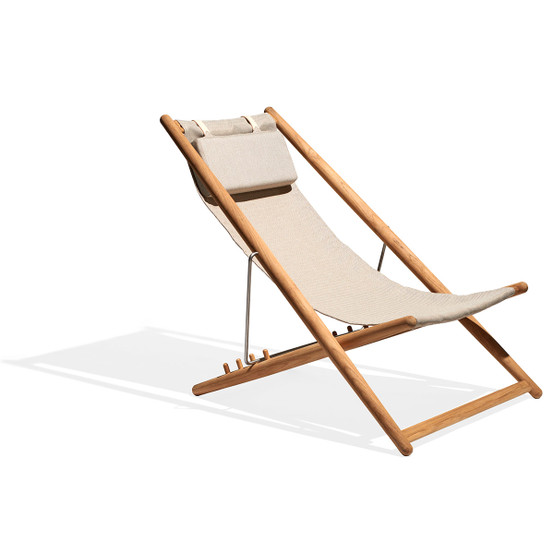 H55 Lounge Chair with Natural Canvas