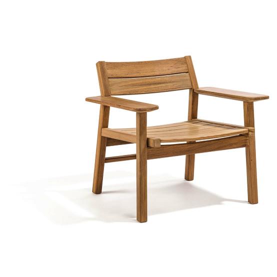 Djurö Lounge Armchair in Teak