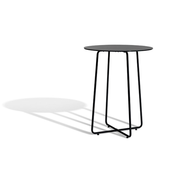 Resö Small Dining Table with Black Frame