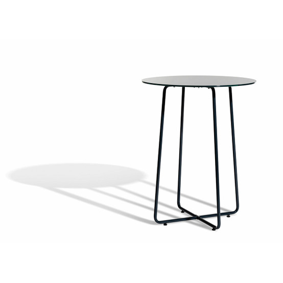 Resö Small Dining Table with Charcoal Grey Frame