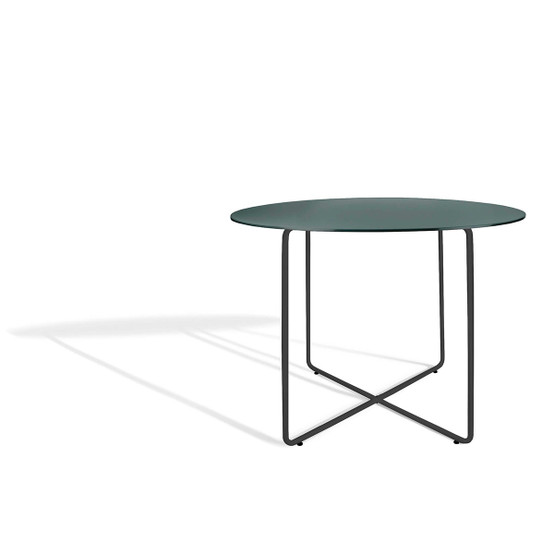 Resö Large Dining Table with Charcoal Grey Frame