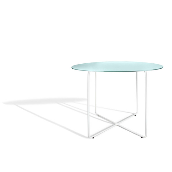 Resö Large Dining Table with White Frame