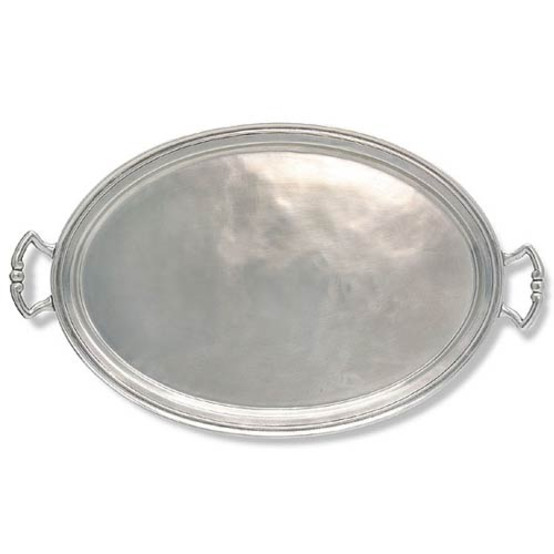 X-Large Oval Tray with Handles
