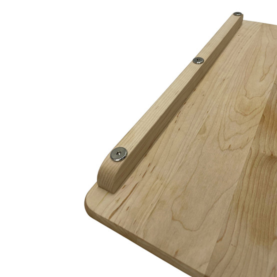Petite Maple Pastry Board with Maple Cleat